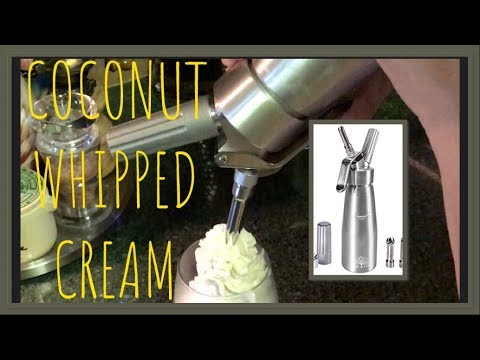 Whipped Cream Dispenser Youtube