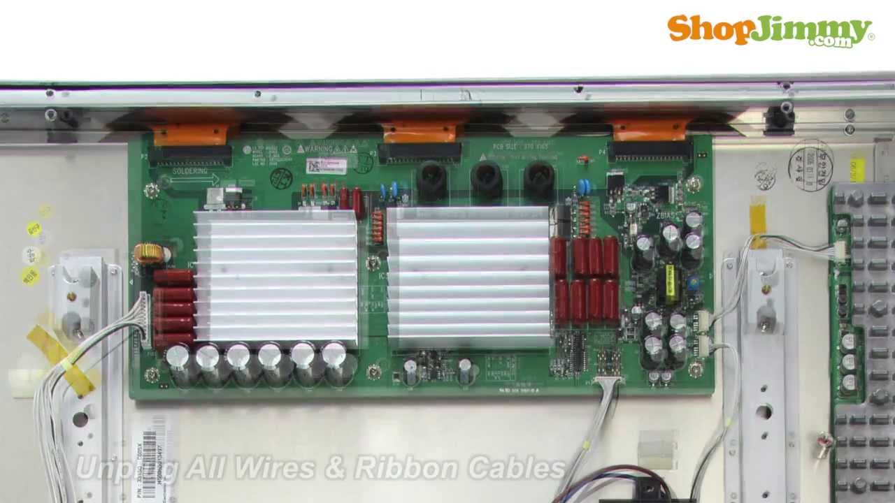 LG 6871QZH044C Z SUS Board Replacement Guide for DIY ...
