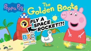 Find pressies with Peppa Pig: Golden Boots!