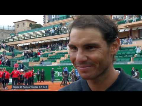 Rafael Nadal Post-FINAL interview / 2017 Monte-Carlo Masters