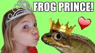 The Frog Prince!  Can The Princess Change The Frog?  Babyteeth4 Mini Movie