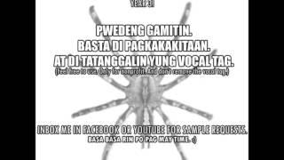 "Tagalog Sample Love Rap Beat ""Mahal Ko o Mahal Ako"""