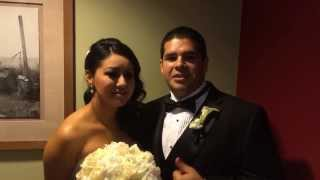 Mirna and Steve give a wonderful Testimonial after their wedding at the Maya hotel in Long beach