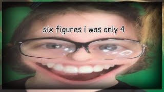 """""""6 figures i was only 4"""" interrupting roblox videos"""