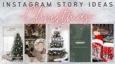 8 Creative Winter Inspired Instagram Story Ideas Christmas Themed Snow Themed Etc Youtube