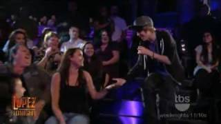 Justin Bieber  One Time live on Lopez Tonight!