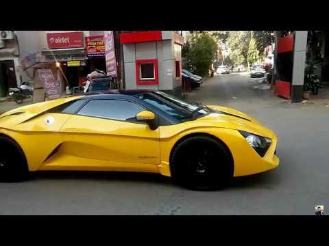 Yellow DC Avanti in Delhi, India