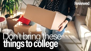 5 things to leave behind when packing for college