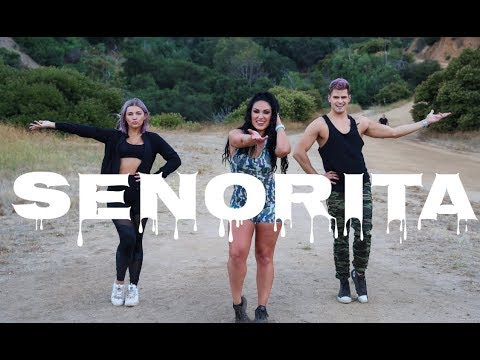 """Senorita"" By Shawn Mendes & Camila Cabello - Dance Fitness With Jessica"