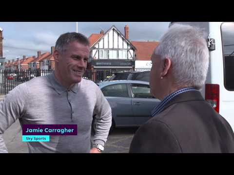 Liverpool FC Legend Jamie Carragher visits new facilities at Marine AFC | Football Foundation