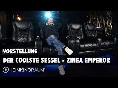 Coole und bequeme Kino Sessel - Der Zinea Emperor Kino Sessel