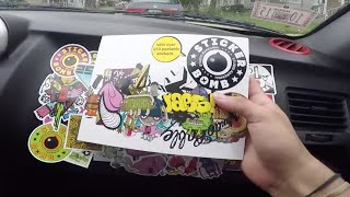 Video DIY -  Sticker Bombing my CAR interior! download MP3, 3GP, MP4, WEBM, AVI, FLV Agustus 2018