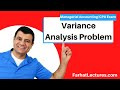 Variance Analysis Problem | Managerial Accounting | CMA Exam