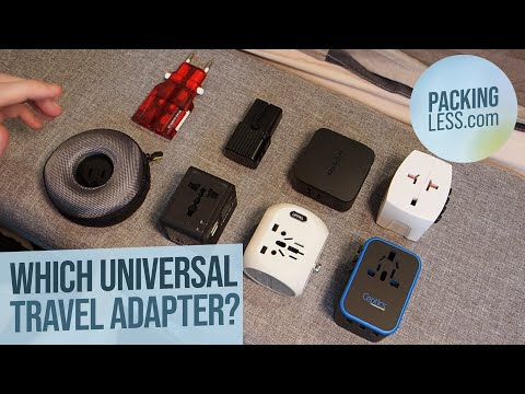 Best Universal Travel Adapters (2020)