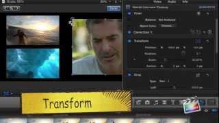 Final Cut Pro X: Crear multipantalla
