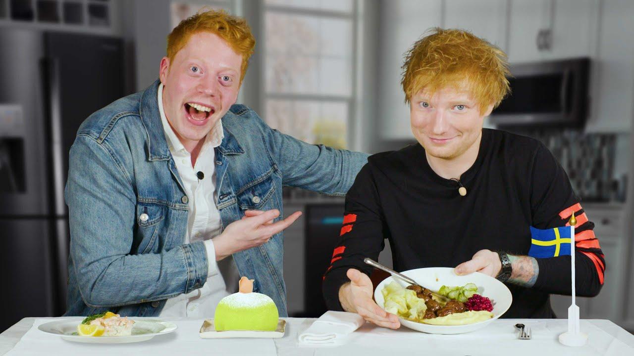 Download Bjuder Ed Sheeran på svensk husmanskost