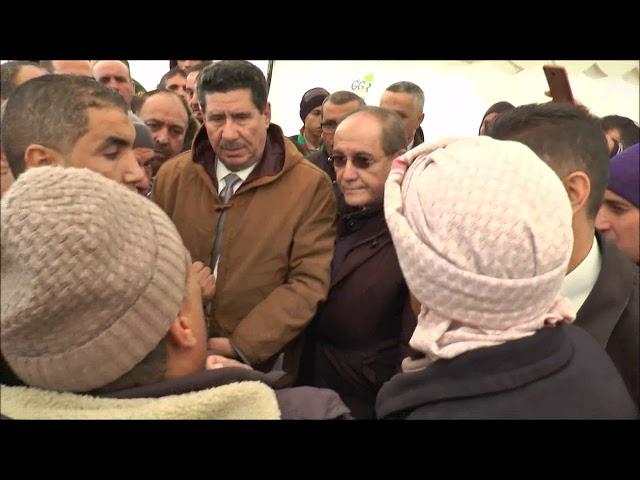 من الميدان..الدكتور شريف عماري وزير الفلاحة  يستمع لإنشغالات المهنيين بولاية الجلفة يوم 16 11 2019