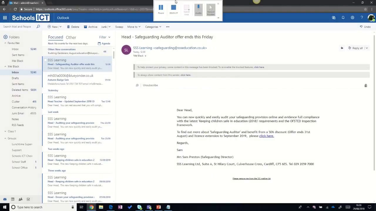 Secure Office 365 E-mail - Office Message Encryption (OME)