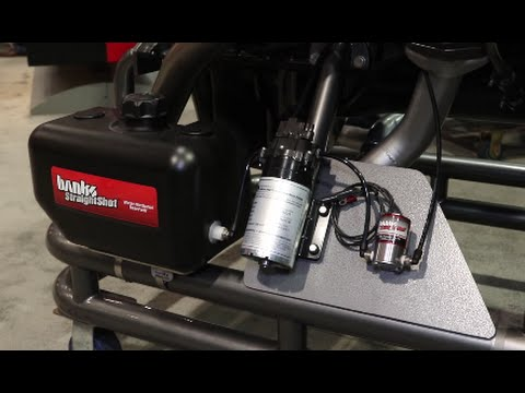 SEMA 2015: Straight Shot Water/Methanol Injection from Gale Banks Engineering