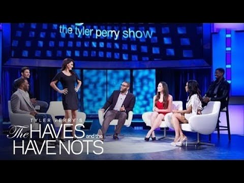 Why Eva Tamargo Embraces Being a TV Villain  Tyler Perry's The Haves and the Have Nots  OWN