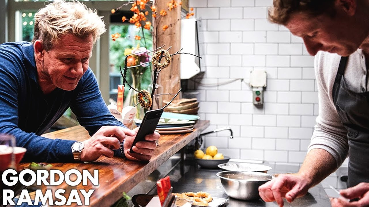 Gordon Ramsay Finds Food Inspiration at Olmsted in Brooklyn