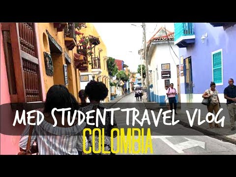 Med Student Travel Vlog | Cartagena Colombia