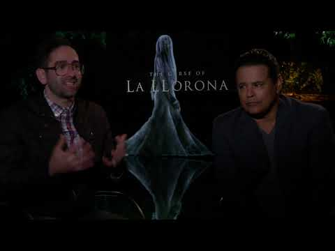 Curse Of La Llorona's Michael Chaves And Raymond Cruz