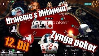 #12 | Zynga Poker - Texas Holdem | _KKND_ zase hrajeme 2.část stolu| [HD]