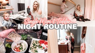 WINTER NIGHT ROUTINE OF A SINGLE MOM & TODDLER 2020| Tres Chic Mama