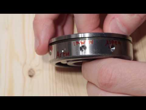 Как просверлить подшипник в домашних условиях видео