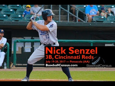 Nick Senzel, 3B, Cincinnati Reds — July 19-20, 2017