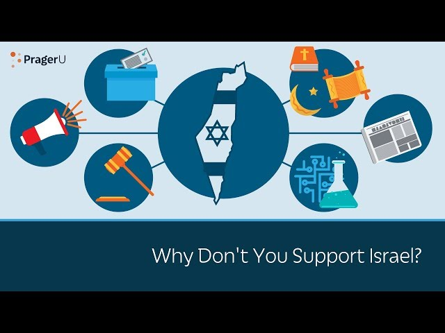 Why Don't You Support Israel?