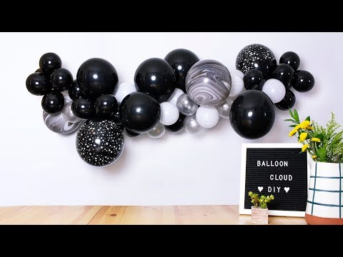 Easy DIY Balloon Garland Step-by-step Tutorial | Party Decoration Tips by Momo Party