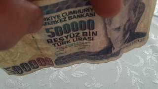 Турция 500000 лир 1970 состояние Very Good VG