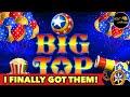 ⭐️BIG TOP HUGE WIN⭐️POP N PAY'S LONG BATTLE WORTH IT MAJOR JACKPOT BONUS SLOT MACHINE