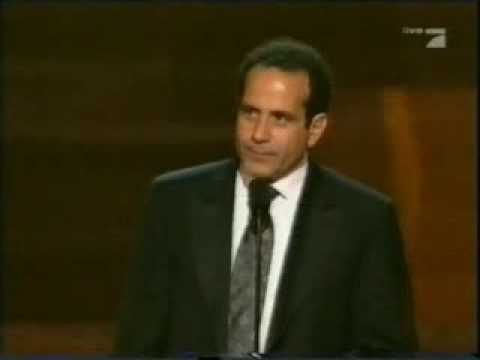 Tony Shalhoub wins Emmy 2006 - YouTube