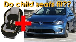 2015 Volkswagen Golf and eGolf Child Seat Review - In 4K