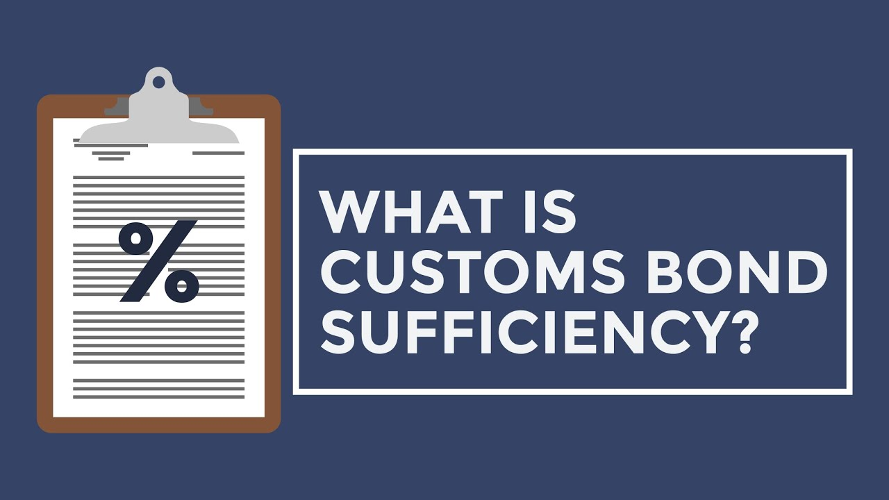 How To Calculate Your Customs Bond Size Youtube