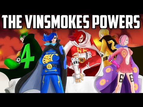 ALL THE VINSMOKES POWERS and ABILITIES || Origins || One Piece