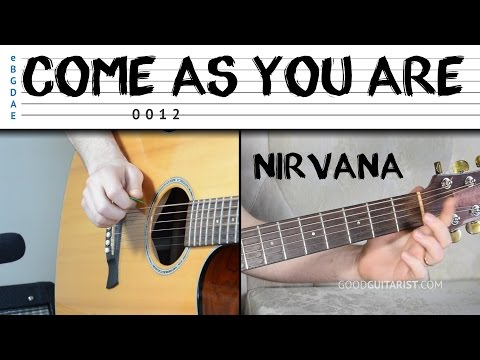 """""""Come As You Are"""" Guitar Tutorial - Nirvana 