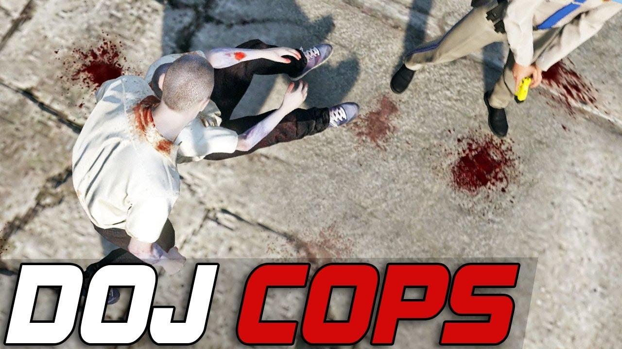 Dept. of Justice Cops #305 - Zombie Outbreak (Criminal)