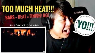 REACTION | D-LOW vs COLAPS | Grand Beatbox Battle 2019 | 1/4 Final MP3
