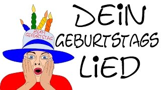 Dein geburtstagslied lustig deutsch - Happy Birthday song