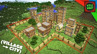 Minecraft The EASY VILLAGE CITY Survival Base! How To Build YouTube