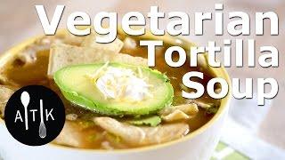 Amoretti Vegetarian Tortilla Soup