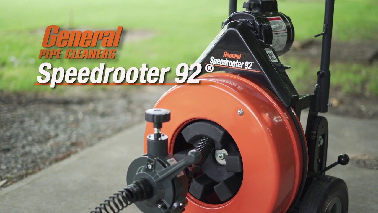 Speedrooter 92 - Job Tested Tough