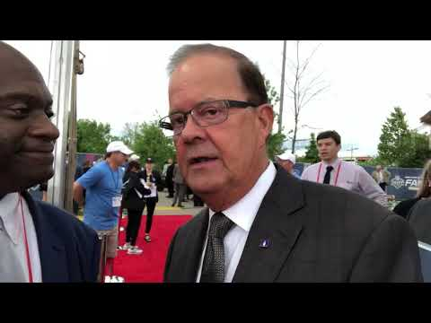 Duke Coach Dave Sutcliffe Interview: 2019 NFL Draft Red Carpet