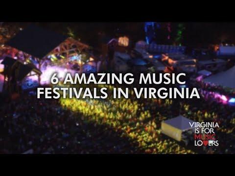 6 Amazing Music Festivals In Virginia