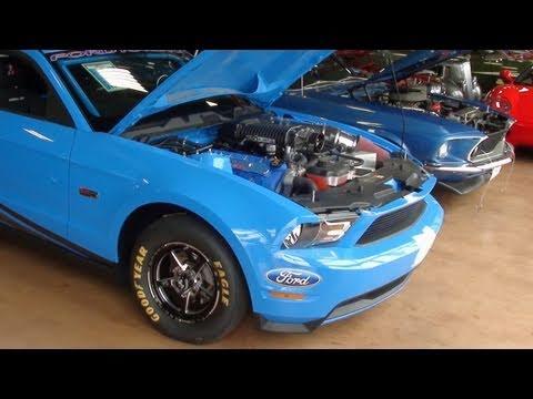 2012 Ford Mustang Super Cobra Jet - Supercharged DOHC V8 Drag Car ...