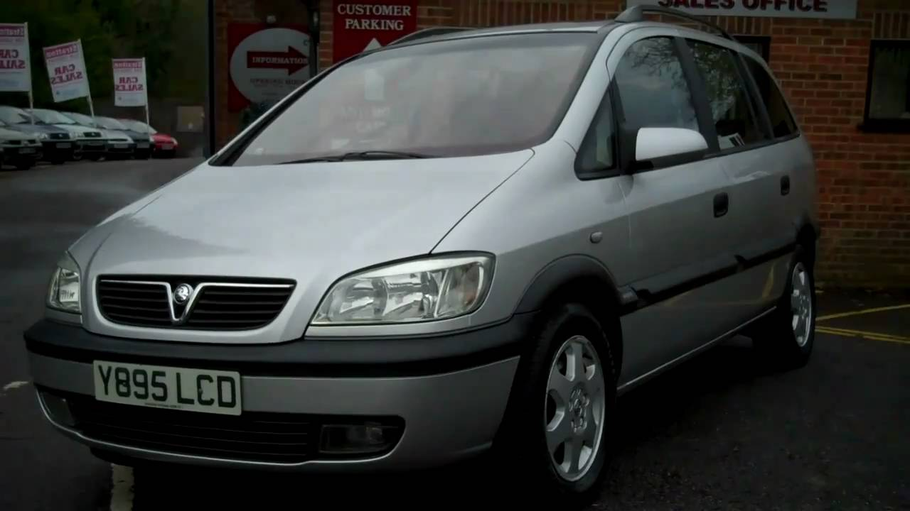 2001 vauxhall zafira elegance dti 7 seater for sale youtube. Black Bedroom Furniture Sets. Home Design Ideas